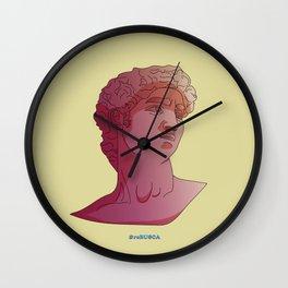 David - Michelangelo Wall Clock