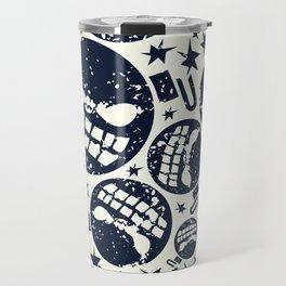 Happy halloween  bomb pattern Travel Mug