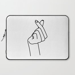 Love Finger Snap Laptop Sleeve