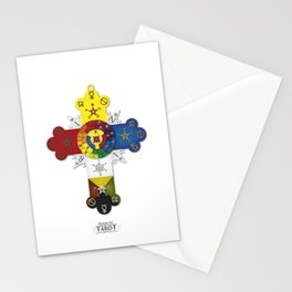Hermetic Cross Stationery Cards