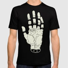 THE HAND OF DESTINY / LA MANO DEL DESTINO Black LARGE Mens Fitted Tee
