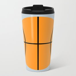 #9 Basketball Metal Travel Mug