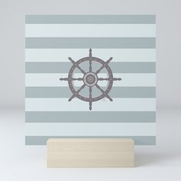 AFE Nautical Wheel 2019 -4 Mini Art Print
