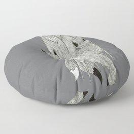Foxes & Badgers Floor Pillow