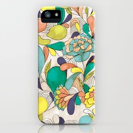 Balloons in bloom iPhone Case