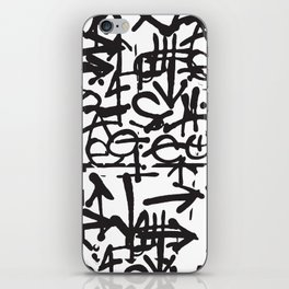 Graffiti Pattern iPhone Skin