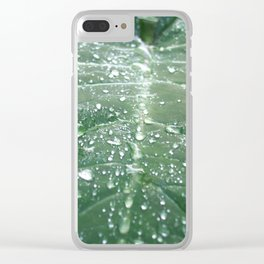 Diamonds after the Rain Clear iPhone Case