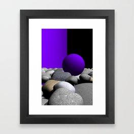 go violet -09- Framed Art Print