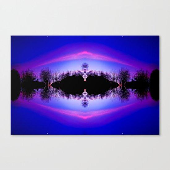 Treeflection IV Canvas Print