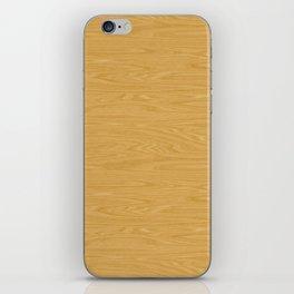 Oak Wood Texture iPhone Skin