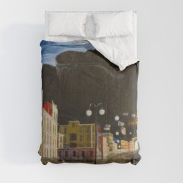 Castellammare di Stabia, Bay of Naples, Italy panoramic portrait by Csontváry Kosztka Tivadar Comforters