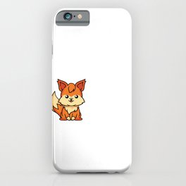 Cute I Just Really Like Foxes Ok Gift Idea iPhone Case