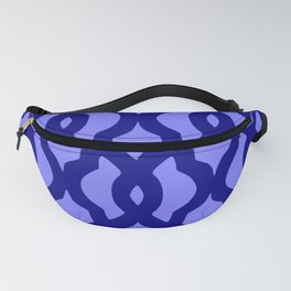 Grille No. 2 -- Blue Fanny Pack