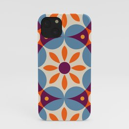 Cement tiles, gemoetric textures, patterns, southern Italy style iPhone Case