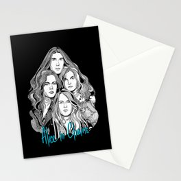 A Band Called Alice 2 Stationery Cards
