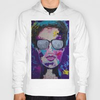 sunglasses Hoodies featuring Sunglasses by Wendistry