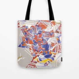 Blades of Steel Cover Tote Bag