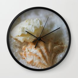 Seashells 1 Wall Clock