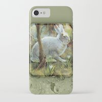 hare iPhone & iPod Cases featuring Hare by Natalie Berman