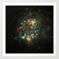 Firework 1170 Art Print