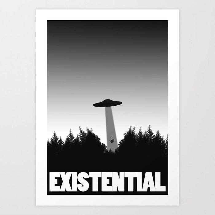 Goodbye Earth Art Print