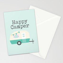 Happy Camper Minty Fresh Stationery Cards