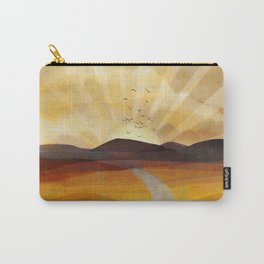 Desert in the Golden Sun Glow II Carry-All Pouch