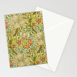William Morris Golden Lily Vintage Pre-Raphaelite Floral Art Stationery Cards