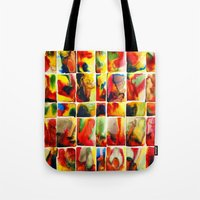 quilt Tote Bags featuring Quilt by Jose Luis