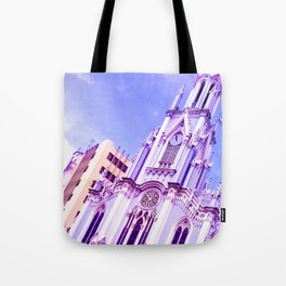 God can do anything. Tote Bag
