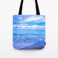 White Beach Tote Bag
