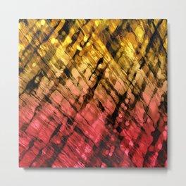 Interwoven, Sunglow Metal Print