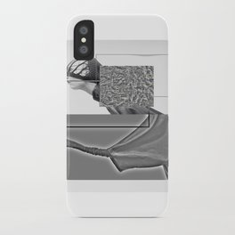 mad woman iPhone Case