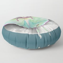 Luna Moth Floor Pillow