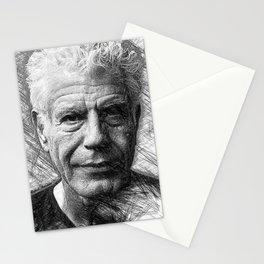 Anthony Bourdain Stationery Cards