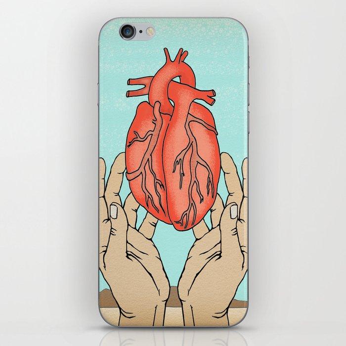 desert heart iPhone Skin