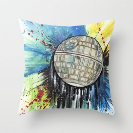 DeathStar Throw Pillow