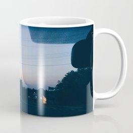 Driving into the sunset Coffee Mug