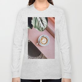 pink latte Long Sleeve T-shirt