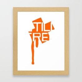 STILL FREE Framed Art Print