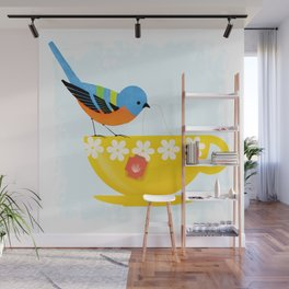 Put The Kettle On Wall Mural