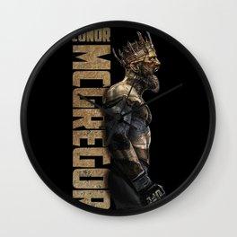 King of UFC conor mcgregor Wall Clock