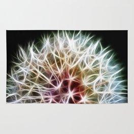 Fractal dandelion Rug