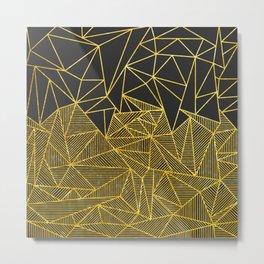 Bullion Rays Metal Print