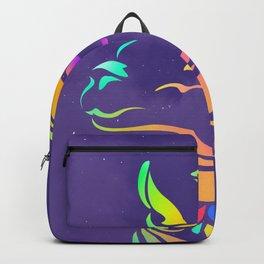 Llamita violeta by #Bizzartino Backpack