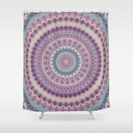 Earth Mandala 4 Shower Curtain