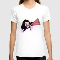 lichtenstein T-shirts featuring Lego Lichtenstein - Scream by Timkirman