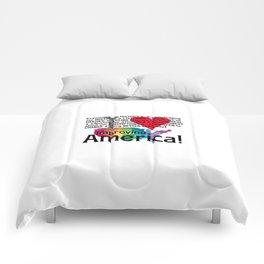 Improving America  Comforters