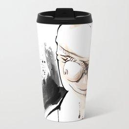 Shibari - Japanese BDSM Art Painting #14 Travel Mug