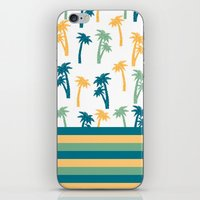 coconut wishes iPhone & iPod Skins featuring Coconut by Gabriela Souza